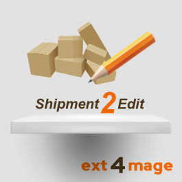 Shipment2Edit magento extension - icon