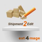 Shipment2Edit magento extension - icon