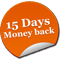 15 days money back